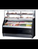 Vitrina refrigerada expositora autoservicio con estante neutro superior INFRICO Combo VCO