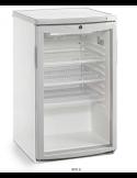 Expositor refrigerado sobremostrador 1 puerta cristal 105 litros Eurofred BFS9