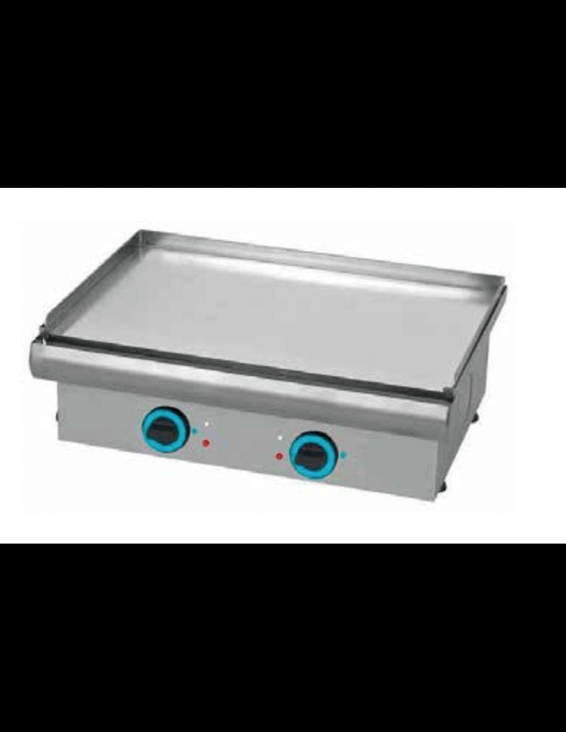 Plancha de cocina el ctrica profesional sobremesa pe80nc - Plancha electrica cocina ...