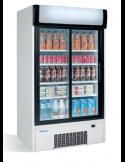 Nevera Expositor refrigerado 2 puertas corredera cristal INFRICO ERC110