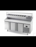 Mostrador refrigerado preparación de pizzas fondo 700 INFRICO MPG