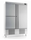 Armario refrigerado 2 medias puertas y 1 puerta 1240 litros INFRICO AGB1403