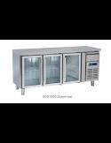 Bajomostrador refrigerado puerta cristal fondo 600 con peto Cool Head SCG