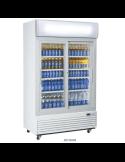 Expositor refrigerado 1000 litros 2 puertas cristal pivotantes Cool Head DC1000H
