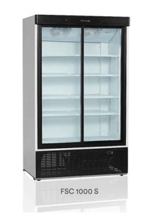 Expositor refrigerado doble...