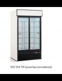 Expositor refrigerado 750 litros 2 puerta cristal corredera IARP Eis 104 TN