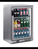 Vitrina botellera frigorífica INFRICO acero inoxidable 1 puerta cristal ERV15II