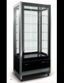 Expositor refrigeración y congelación 4 caras cristal 500 litros ISA 4 caras Cristal Tower RV 925 BT/TN