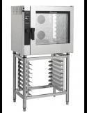 Horno eléctrico digital táctil vapor directo 7 bandejas 60x40 Giorik Easy Air Touch Screen ETE7