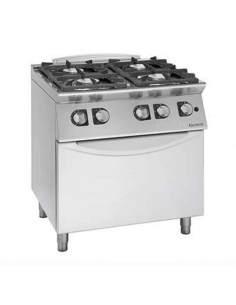 Cocina a gas con horno...