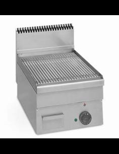 Plancha fry top eléctrica sobremesa ancho 40 cm fondo 60 EUROFRED ME40