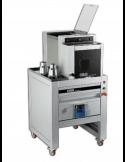 Porcionadora redondeadora industrial de masa de pizza OEM BM2/AS