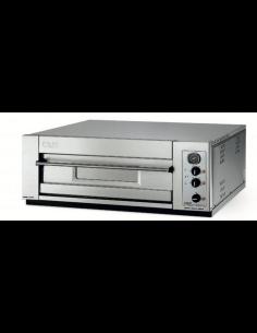 Horno de pizza eléctrico compacto 1 cámara 4 pizzas OEM Domitor 430