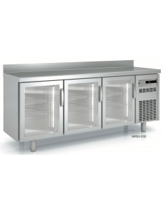 Bajomostrador refrigerado puerta cristal fondo 700 CORECO MRGV