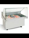 Vitrina expositora refrigerada para pescado Infrico VRP