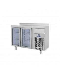 Frente mostrador refrigerado 2 puertas cristal INFRICO Infricool IF602PCR