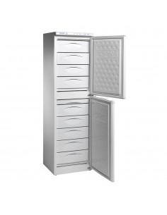 Congelador vertical 9 cajones alto 192 cm INFRICO CV330HC