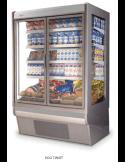 Vitrina Mural refrigerado con puertas para carne DERIGO Eco Twist