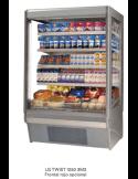Mural expositor refrigerado para carne fondo 85 DERIGO LG Twist