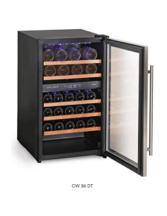 Vinoteca refrigerada 36 botellas vino 2 temperaturas Cool Head CW36DT