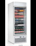 Expositor refrigerado 265 litros 1 puerta cristal Isa Tornado S40TN