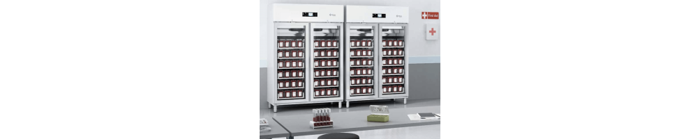 ▷ Comprar Refrigeradores para Bancos de Sangre  | Frigeria Hostelería